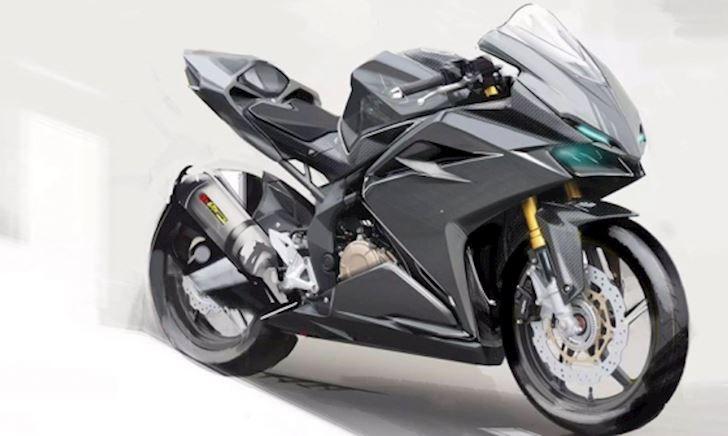 Hoang mang về mẫu Honda CBR250RR thế hệ mới