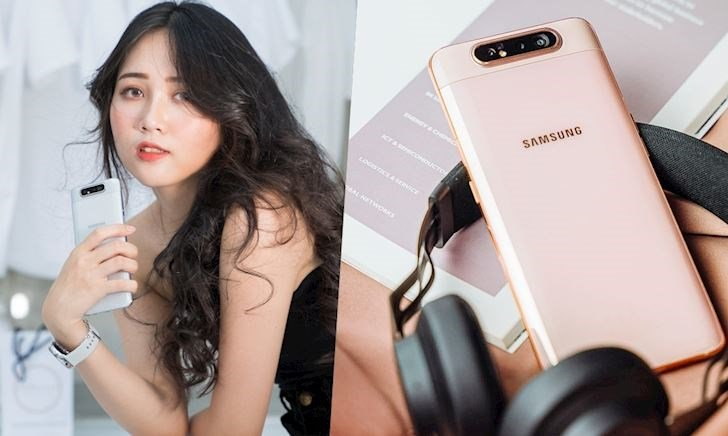 Mở hộp Samsung A80 chính hãng - Chiếc điện thoại nhiều cái đầu tiên nhất