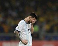 """Argentina thua Brazil, HLV lo Messi """"rủ"""" các đồng đội giải nghệ"""