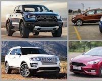 Bảng giá xe Ford mới nhất tháng 10/2019