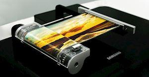 Chiêm ngưỡng smartphone màn hình cuộn của Samsung, không còn gập như Fold