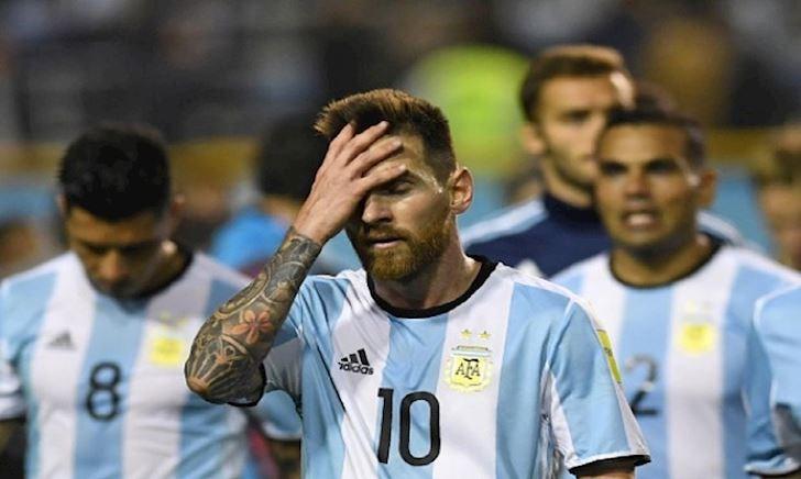 Argentina, Messi và những giọt nước mắt màu đen