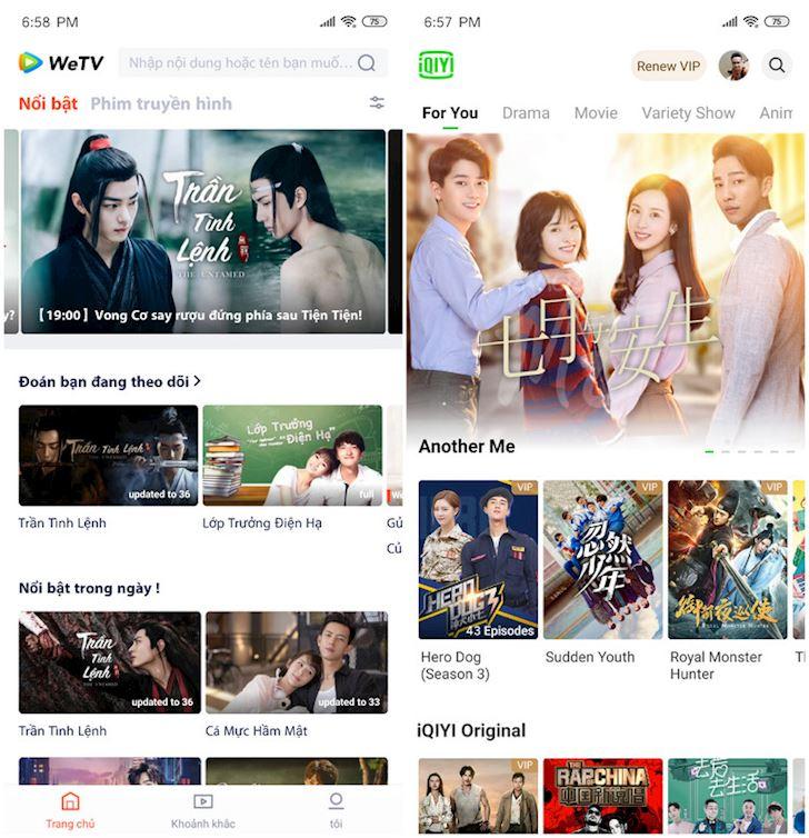 Tencent Baidu ra mat tai Viet Nam dich vu xem phim 4