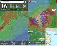 Ứng dụng theo dõi tin bão số 3 chính xác và chuẩn nhất