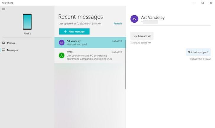 Cách cài đặt để nhận thông báo tin nhắn từ điện thoại Android trên máy tính