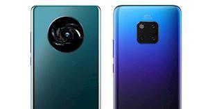 Lộ diện thiết kế mặt lưng Huawei Mate 30 Pro với cụm camera hình tròn sắp xếp cảm biến theo hình chữ