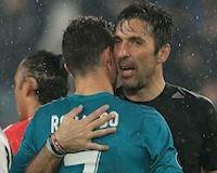 Sợ lại bị CR7 cho 'ăn hành', Buffon về Juventus để nương nhờ Ronaldo