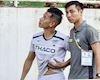 Video clip: Hồng Duy chấn thương, thầy Park lo lắng cho vòng loại World Cup