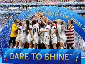 Chặn đứng 'Cơn lốc cam', Mỹ lần thứ tư vô địch World Cup nữ