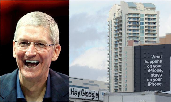 Apple 'đá đểu' Google về quyền riêng tư, đã không phải lần đầu tiên
