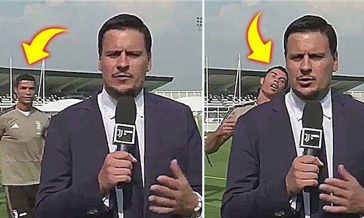 Video Clip: Ronaldo và những lần tấu hài cùng đồng đội ở Juventus