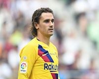 Sau 5 trận Griezmann mới có thể 'mở tài khoản' ở Barca