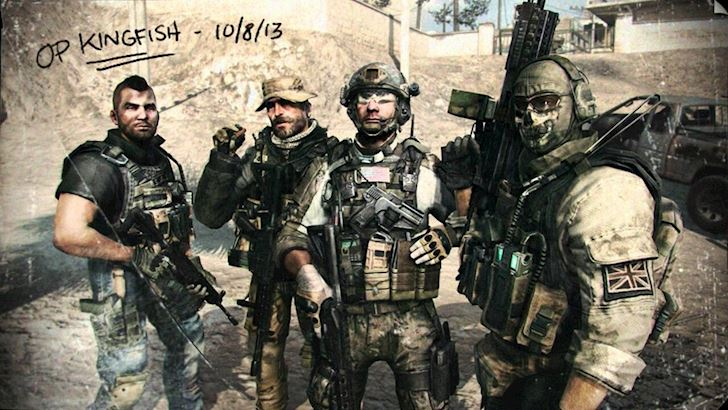 Call Of Duty Modern Warfare lieu co con hap dan game thu
