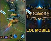 """Video về LMHT Mobile đã bị rò rỉ khiến cho """"dân tình"""" náo loạn"""