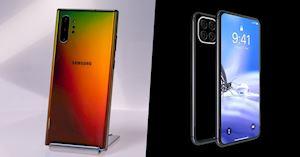 So sánh Samsung Note 10 và iPhone 11: Cuộc chiến hai kẻ dẫn đầu