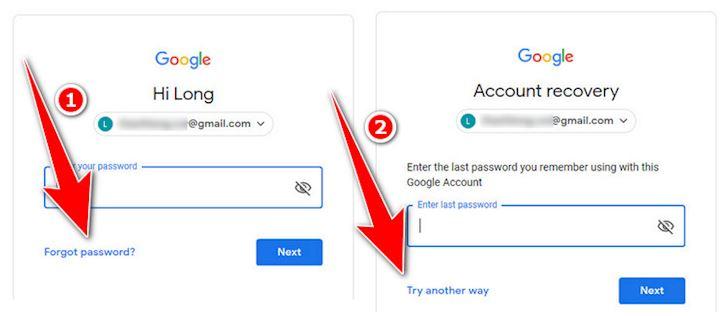 Cach xu ly don gian khi lo quen mat khau Gmail 2