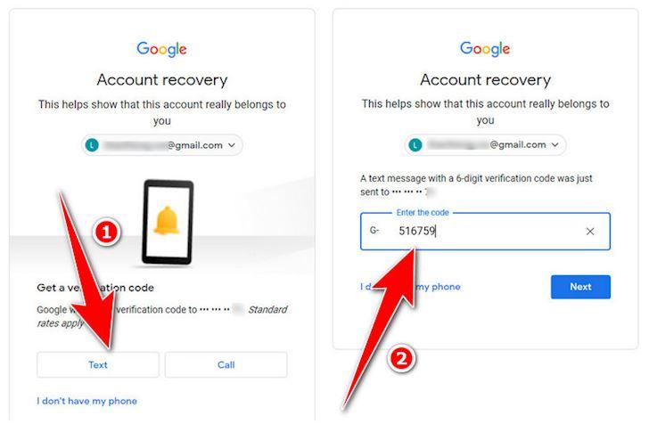 Cach xu ly don gian khi lo quen mat khau Gmail 3