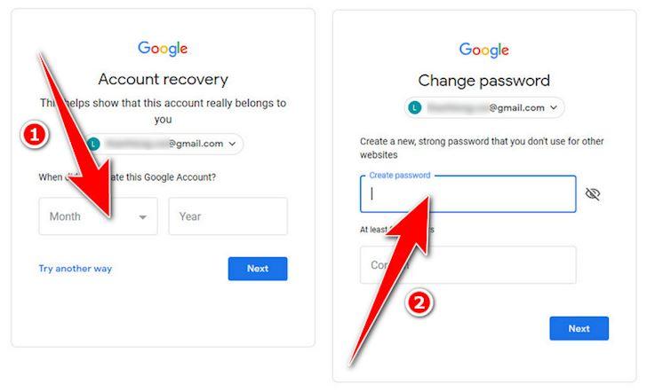 Cach xu ly don gian khi lo quen mat khau Gmail 5