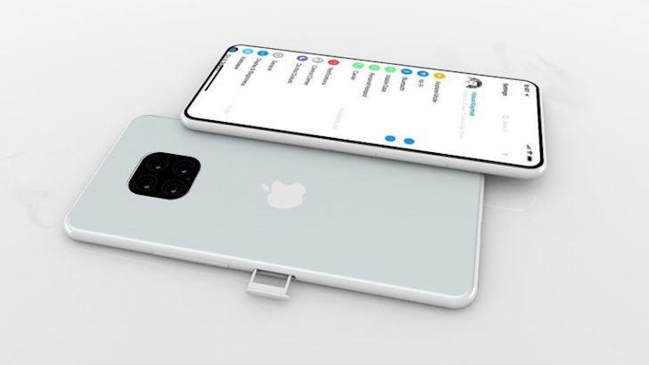 Concept iPhone 11X chat lu voi kieu thiet ke moi pin 5000mAh6