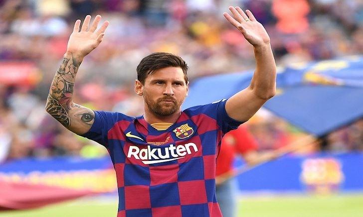 Barca vắng thủ quân Messi trong trận ra quân La Liga