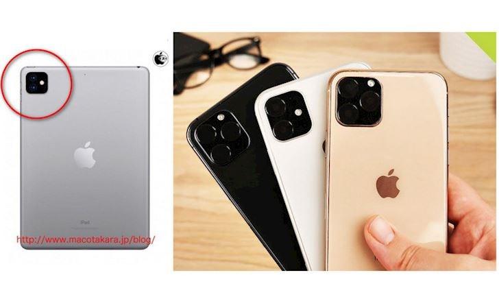 Macotakara: iPad Pro 2019 sẽ có cụm 3 camera ở mặt lưng như iPhone 11