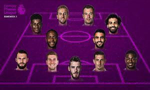 Đội hình hay nhất vòng 1 Ngoại hạng Anh: Vinh danh Man Utd-Man City