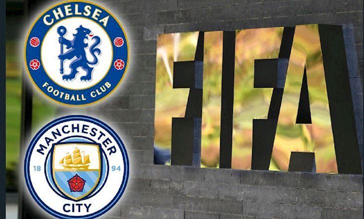Chelsea nong mat truoc an phat 'can loi' cua FIFA cho Man City anh 1