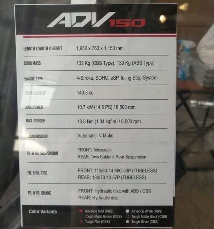 Honda ADV 150 sap xuat hien de doi dau Yamaha NVX 6