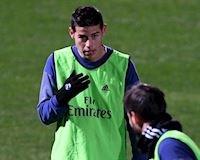 Zidane bị ép buộc phải giữ James Rodriguez