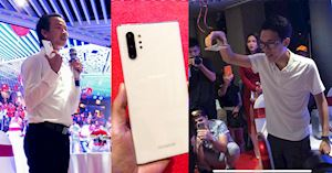 Pha thử độ bền Galaxy Note 10 Plus đầu tiên tại Việt Nam - Thả rơi 3 lần và cái kết bất ngờ