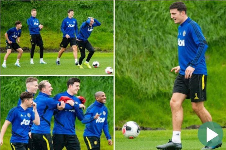 CDV Man Utd so Young va Phil Jones