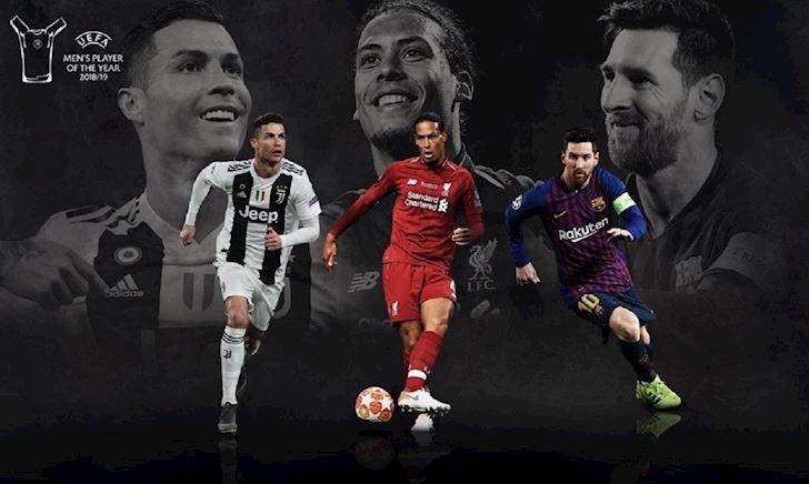 Cầu thủ hay nhất châu Âu: Van Dijk có cửa đấu Ronaldo-Messi?