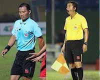Video clip: 3 tình huống khiến 4 trọng tài V.League bị treo còi