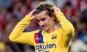 Antoine Griezmann bị gây khó dễ ở Barcelona