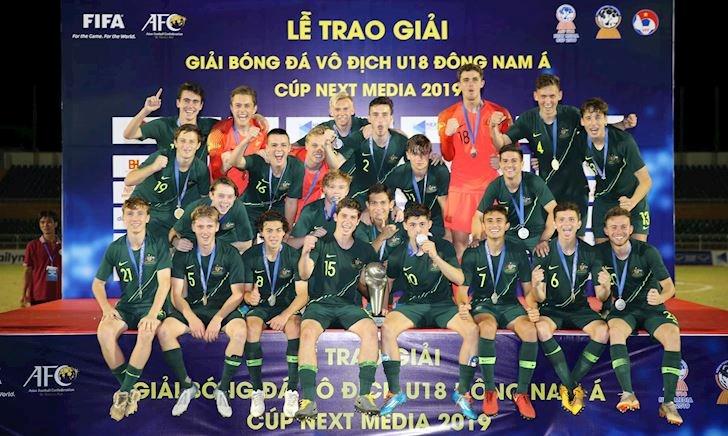 'Phục thù' thành công U18 Malaysia, U18 Australia vô địch Đông Nam Á