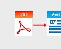 Cách chuyển PDF sang Word dễ làm, hiệu quả cao