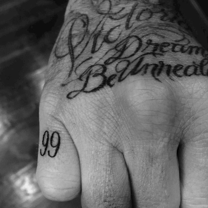 Goi y hinh xam tu David Beckham 10