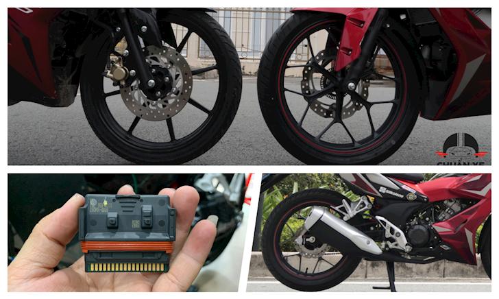 Honda Winner X có giá phụ tùng hú hồn so với Yamaha Exciter 150