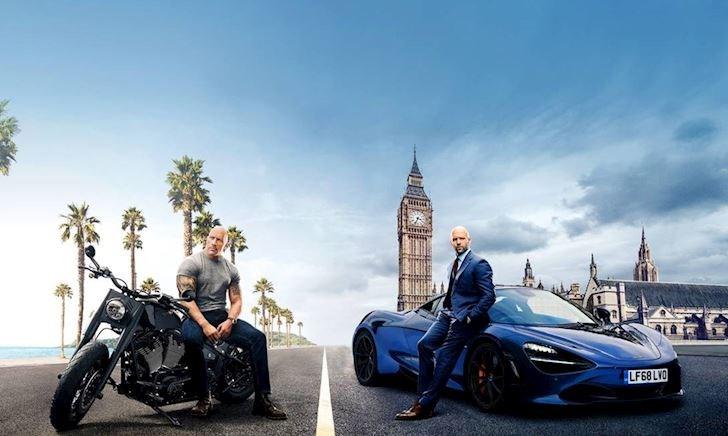 Mãn nhãn với siêu xe và tốc độ trong Fast and Furious 9: Hobbs and Shaw