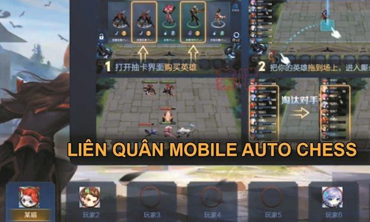 Liên Quân Mobile ra chế độ Auto Chess để cạnh tranh với LMHT