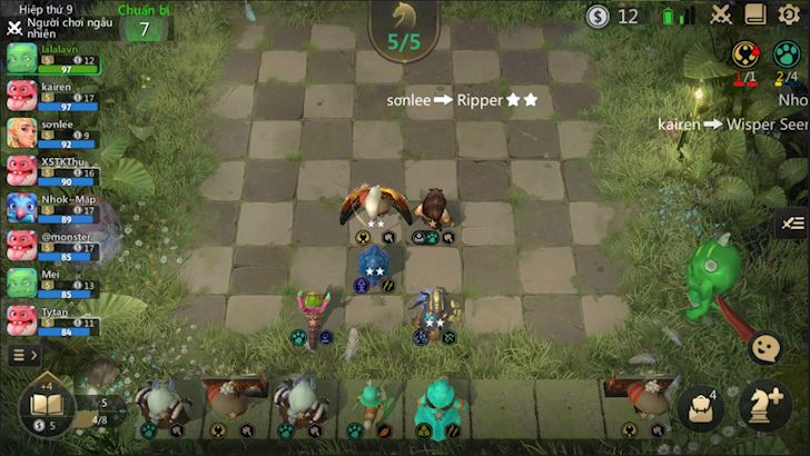10 mẹo nhỏ để luôn được Top 1 trong Auto Chess Mobile VN