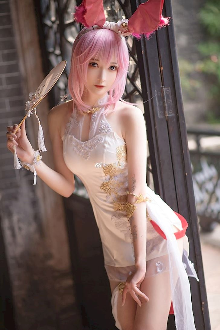 Ngọt ngào với bộ ảnh cospllay Yae Sakura cực dễ thương trong Honkai Impact 3rd