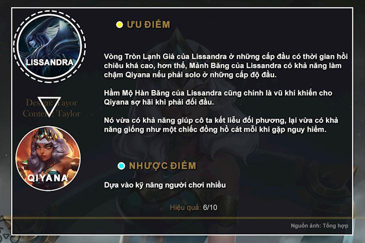 LMHT: Lam cach nao de khac che Qiyana dang qua manh me