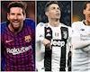 Hôm nay Ronaldo, Messi, Van Dijk nhận kết quả Cầu thủ hay nhất châu Âu