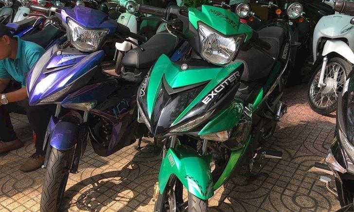 Bảng giá xe các dòng Yamaha Exciter 150 cũ