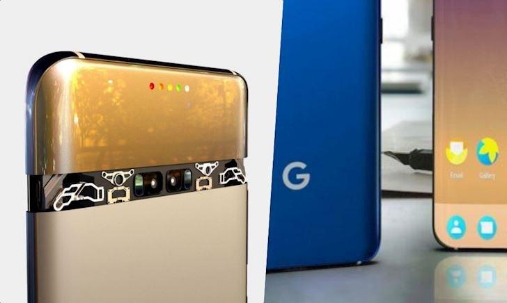 Chiêm ngưỡng concept Google Pixel 5: Chiếc smartphone đến từ tương lai