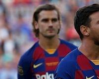 Video clip: Messi ngó lơ Griezmann, lộ bằng chứng 'bằng mặt không bằng lòng'