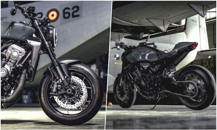 Naked bike Honda CB1000R sắp có thế hệ mới?