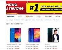 """Bất ngờ với giá điện thoại tại cửa hàng """"dienthoaiSieuRe"""" rẻ hơn đến gần cả triệu đồng"""