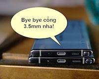 Samsung lý giải Galaxy Note 10 và Note 10+ không còn cổng tai nghe 3.5mm